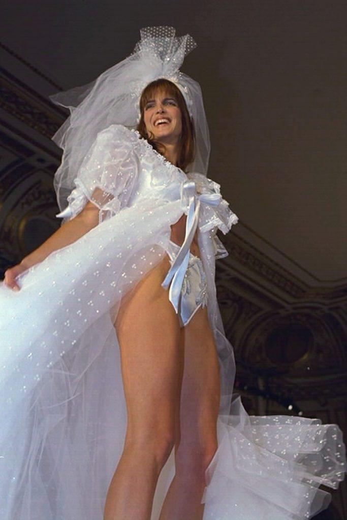 Stephanie Seymour at the 1996 Victoria's Secret Valentine Fashion Show