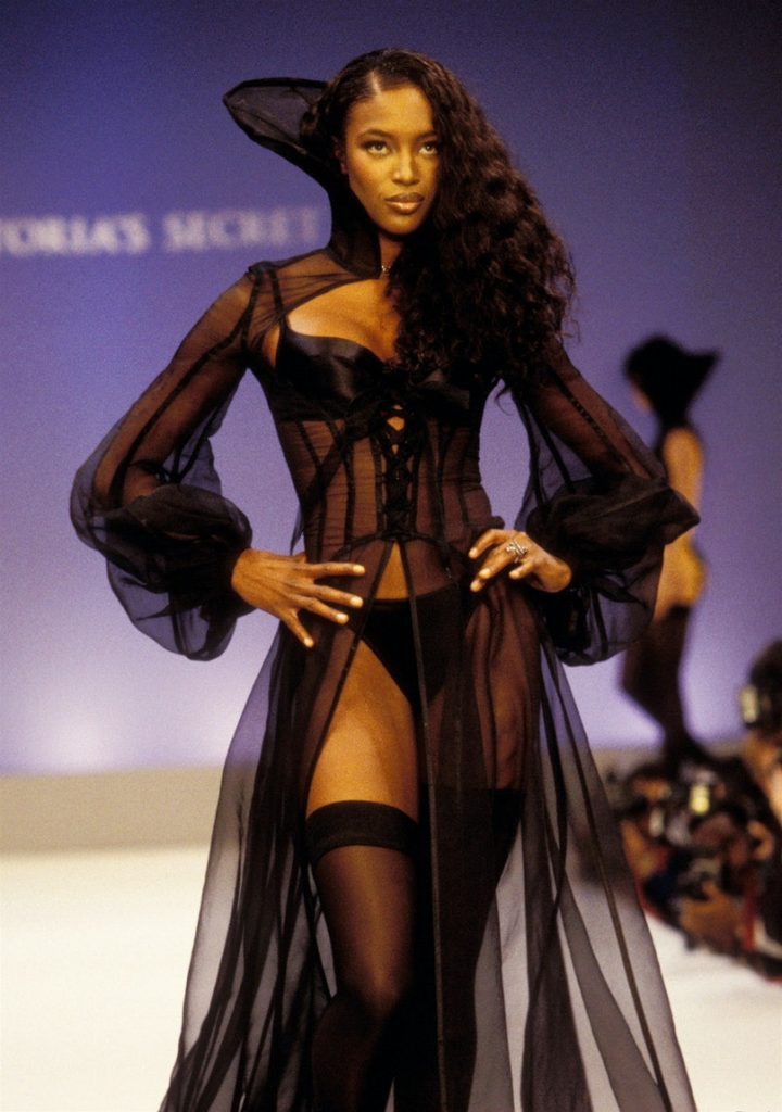 Naomi Campbell at the 1997 Victoria's Secret Spring Revelations