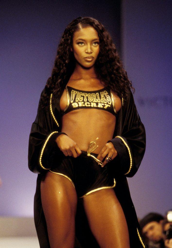Naomi Campbell at the 1997 Victoria's Secret Fashion Show